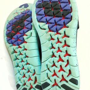 Nike Shoes - Nike Free RN Women's Velcro Running Shoes Sz. 9